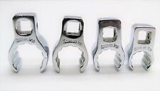 """SNAP ON 4 PIECE FLARE NUT CROWFOOT 3/8 - 9/16"""" WRENCH SET"""