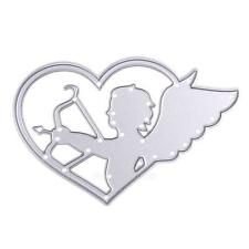 Cupid Heart  Cutting Dies Stencils Scrapbooking Album Paper Card Embossing Craft