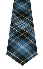 Mens Clan Tartan Tie Clark Ancient 100% Wool Lochcarron of Scotland Brand New