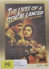 The Lives Of A Bengal Lancer Gary Cooper Region 4 DVD VGC