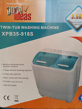 Portable Washing Machine Spin Dryer Motorhome Caravan Boat Holiday flat Twin Tub