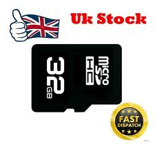 32GB Class 10 Micro SD SDHC Memory Card TF Flash - UK SELLER