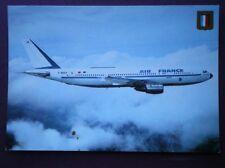 POSTCARD AIRBUS A300-B2 AEROPLANE OF AIR FRANCE