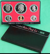 1978 United States Mint Annual 6 Coin Proof Set and Original Box Made in the USA