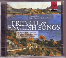 THOMAS ALLEN CD NEW 2 CDs FRENCH AND ENGLISH SONGS