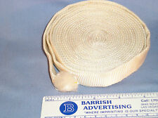 MI-21 - WW2 20mm x 2mm thick Navy White Cotton Webbing approx. 5 yards long