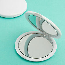 Perfectly Plain Compact Mirror Favor Wedding Bridal Shower Party Gift Favors