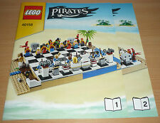 Lego Ritter Bauplan 40158, only instruction