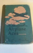 1940's AVIATION THEMED CHILDRENS MATH TEXTBOOK BOOK AIRPLANE