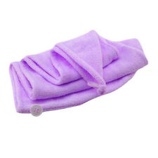 Magic Quick Hair Drying Microfiber Towel Ponytail Holder Cap Wrap for Lady