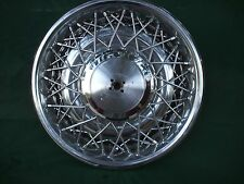 cadillac brougham deville ,oldsmobile wire wheel cover hup cap  RWD 1975-1984