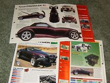 1997-99 PLYMOUTH PROWLER SPEC INFO POSTER BROCHURE AD