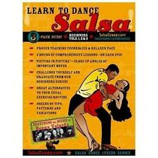 Salsa Crazy-SalsaCrazy Presents: Learn to Salsa Dance, Beginners 3 Pack: DVD NEW