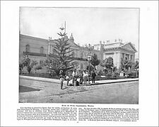 Lawyer School Guadalajara MEXICO/ GENERAL GRANT FAIRMOUNT PARK 1897 PRINT