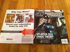 GAME INFORMER 136 August 2004 Splinter Cell Chaos Theory Gods Of War Grand Theft