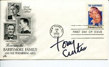 Tony Curtis Some Like It Hot Houdini The Defiant Ones Rare Signed Autograph FDC