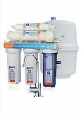 5 stages undersink RO reverse osmosis water filter system with SS Faucet