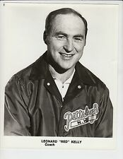 "LEONARD ""RED"" KELLY PITTSBURGH PENGUINS ORIGINAL 8X10 PUBLICITY PHOTO"