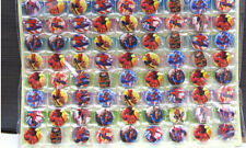 New Lot 108pcs spider-man children Badge Button Pin 2.5cm
