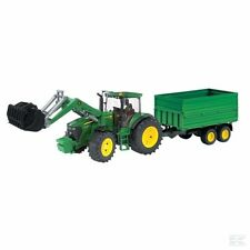 Bruder John Deere 7930 Tractor With Trailer 1:16 Scale Model Age 3+