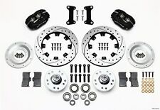 AMC Gremlin,Javelin,Matador Wilwood Dynalite Front Big Brake Kit,Drilled Rotors~