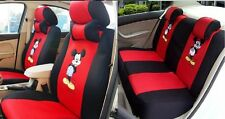 2017 HOT New Mickey Mouse cartoon Car Seat Covers 12pcs