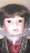 "Paradise Galleries Oriental Doll 23"" AIKO NIB COA#062"