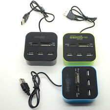 1xUSB 3.0 Hub 3 Ports Card Reader Combo for MS/MS PRO DUO/SD/MMC/M2/Micro