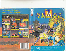 The Mummy:The Boy Who Would Be King-2001/3-TV Series USA-Animated-4 Episodes-DVD