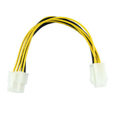 Generic ATX 4 Pin to 8 Pin Female to Male Adapter EPS Power Supply Cable Adapter