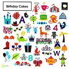 Provocraft CRICUT CAKE Cartridge BIRTHDAY CAKES 2000224 Font Phrase Shadow Base