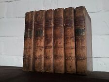 A New and Accurate System of Natural History Brookes 1772 6 Vols Complete