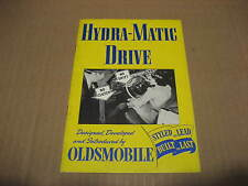 1940's Oldsmobile Hydra-Matic Drive Brochure