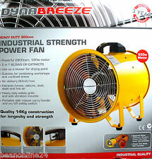 Industrial Power Jet Fan 520 Watts 300mm Portable
