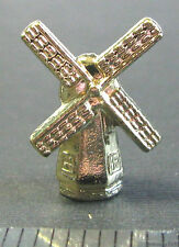 game part Monopoly European Windmill Netherlands gold tone metal token pewter