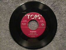 """45 RPM 7"""" Record Beverly Laine Stardust & September Song Tops Records 45-1016"""