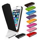 Handy Tasche für iPhone 4 4S 5 5S Flip Case Cover Schutz Hülle Etui Bumper