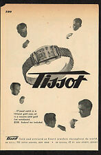 1940's Vintage 1946 Tissot Watch Co. - Paper Print AD