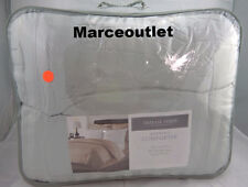 CHARTER CLUB Damask Stripe FULL / QUEEN Down Alternat Comforter & Cases Seaglass