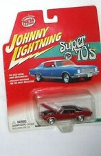 JOHNNY LIGHTNING SUPER 70'S 1971 Red Chevy Monte Carlo  CAR ORIGINAL PACKAGES