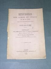 Prehistoire mensurations des aires du crane... Beaumanoir 1880 envoi à G. Le Bon