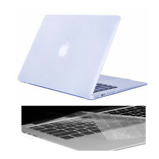"Crystal Hardcase Shell + Keyboard Cover For Apple Mac Macbook White 13"" A1342"