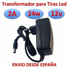 Transformateur 12v DC 2A 24w Bande de Led Chargeur Source d' Alimentation 220v