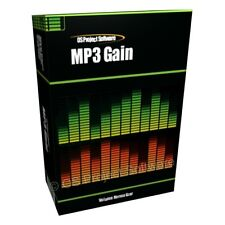 MP3 Gain Increase the Volume of Your Songs Music Tracks Software for PC MAC OSX