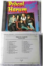 Procol Harum - Greatest .. Rare 1980er Japan Belgium CD