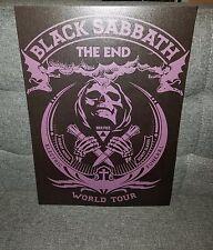 Black Sabbath Poster Sabbath Tour poster concert poster 2016 The End Tour