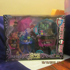 MONSTER HIGH CAFE CART SCARIS CITY OF FRIGHTS