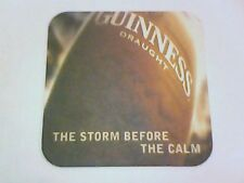GUINNESS THE STORM BEFORE THE CALM  beermat / coaster  Side 2 The Irish weather