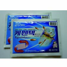 Kefentech Plaster Pain Relieving Relief Patch 40 PCS  Made in Korea