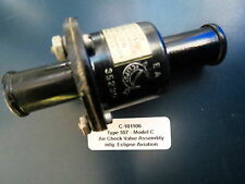 Eclipse Aviation Aircraft 557-3C Air Check Valve DC-3 Warbird